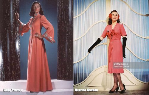 The-Power-of-pink---Gene-Tierney-and-Deanna-Durbin-1942