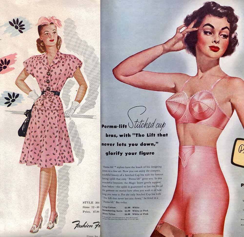 The-Power-of-pink---girdles to frocks