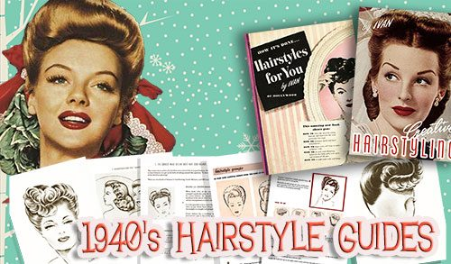 vintage 1940s hairstyle tutorials