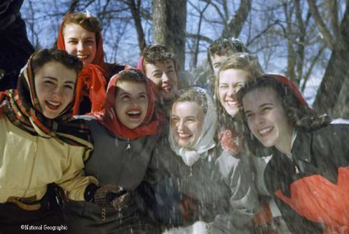 1940s-wartime-women--Carnival-Queens-Saint-Paul-Minnesota-B-Anthony-Stewart