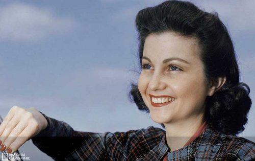 1940s-woman---Santa-Catalina-Island---1944-B.-ANTHONY-STEWART