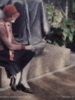 1920s Women in Autochrome Lumiere Color