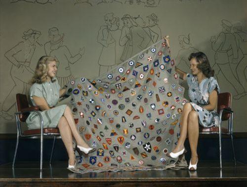 Two-college-girls-in-South-Dakota-1943---Jay Baylor Roberts