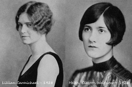 college-girl-hairstyles---Mary-Baldwin-College-1926-and-1928
