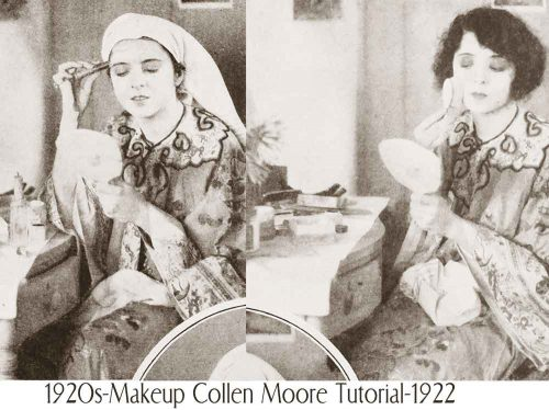 1920s-Makeup---Collen-Moore-Tutorial-1922