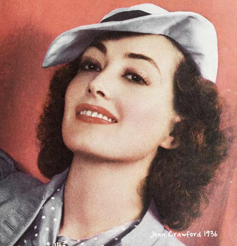 1935-Spring-Fashions---Joan-Crawford-hat