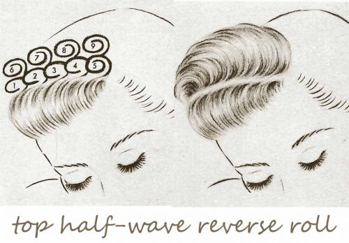 1940s-Hairstyles-Handbook---top-half-wave-reverse-roll