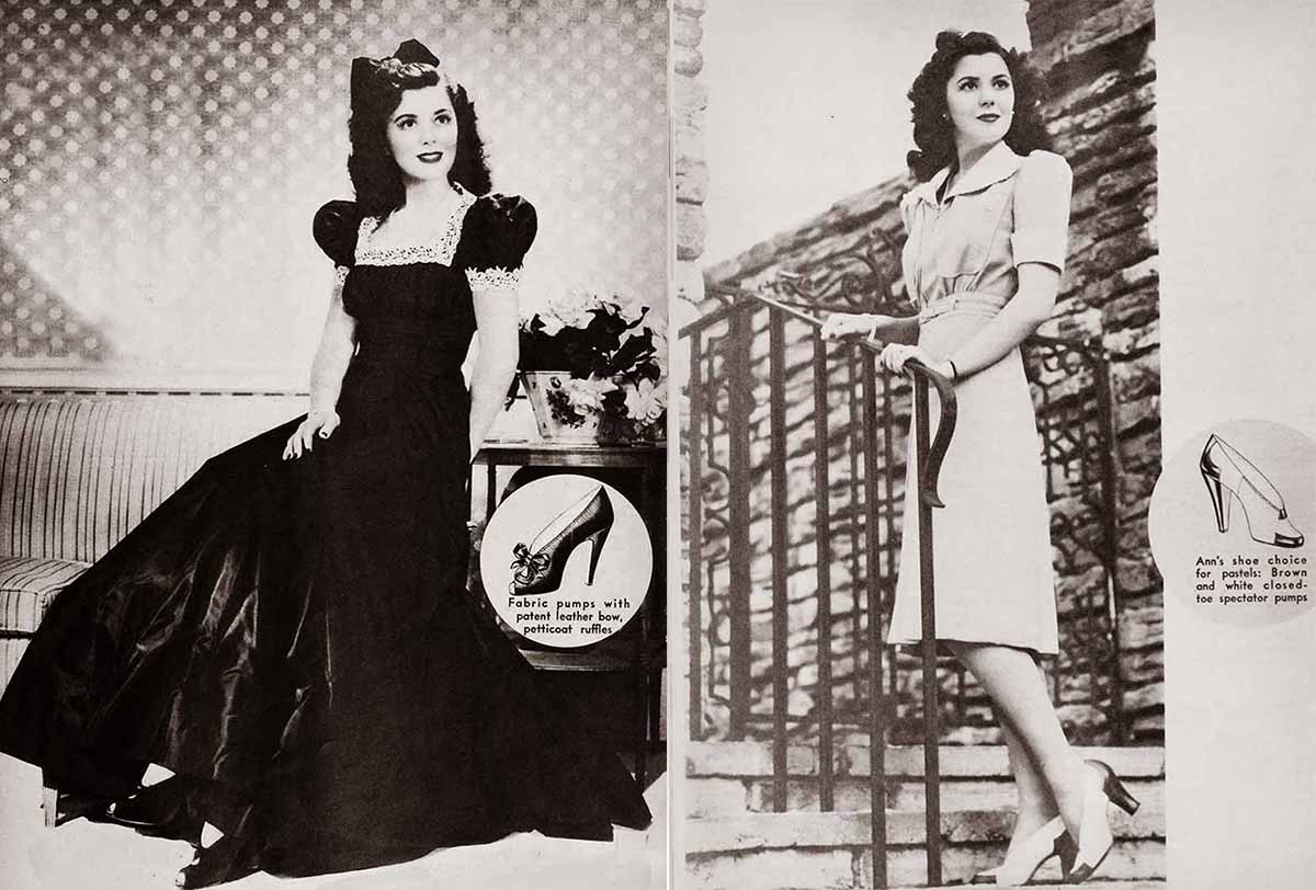 1940s Hollywood Spring Styles 1941 Glamourdaze
