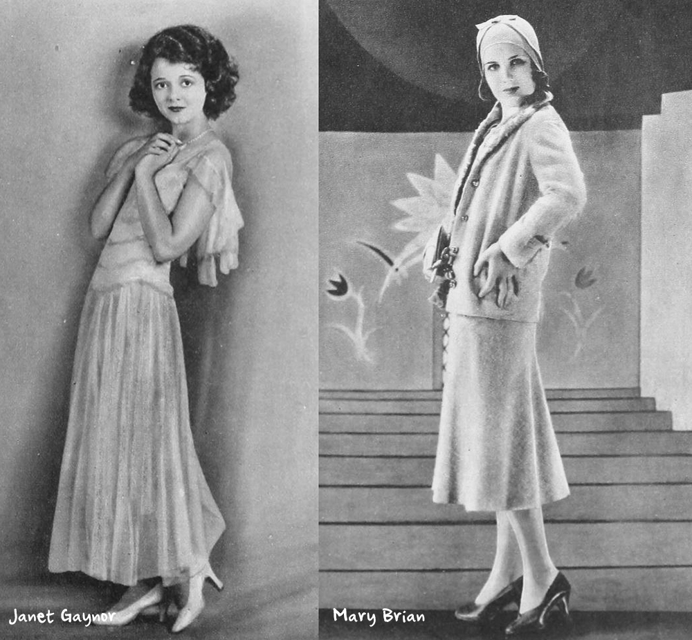 Spring-wardrobe-1930---Janet-Gaynor-and-Mary-Brian