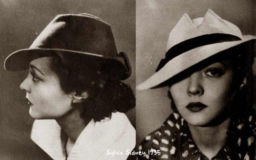 Sylvia-Sidney-1930s-Hat-Styles---1935