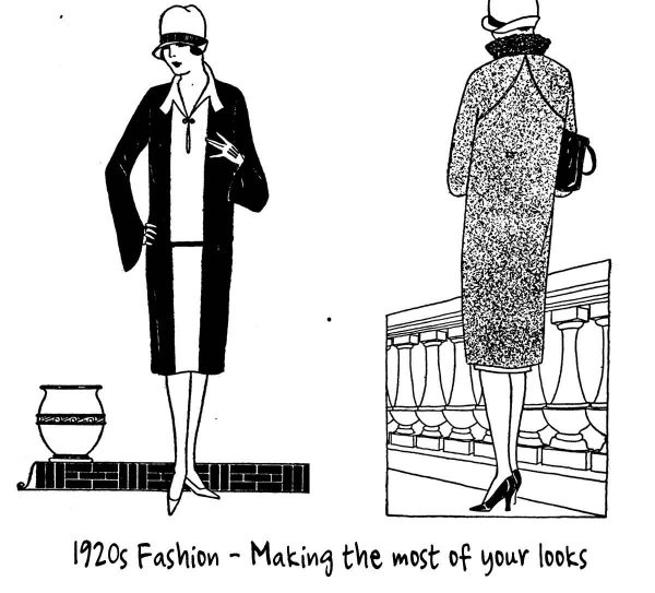 Correct 1920's Coats for your Shape