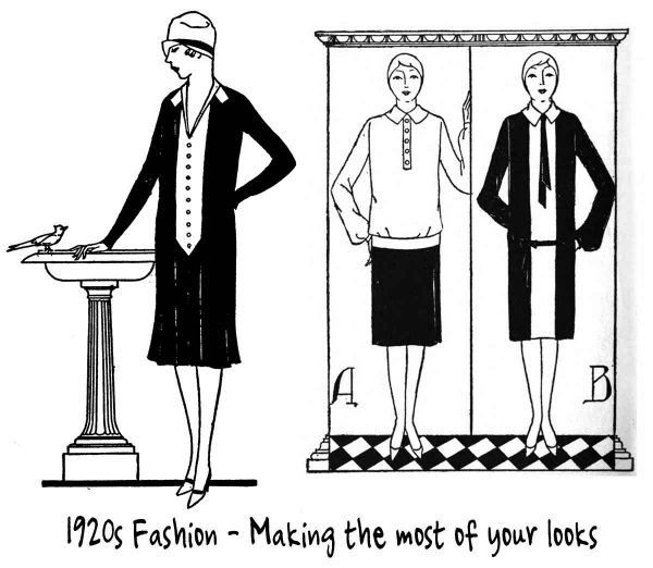 Correct 1920's Skirts for your Shape