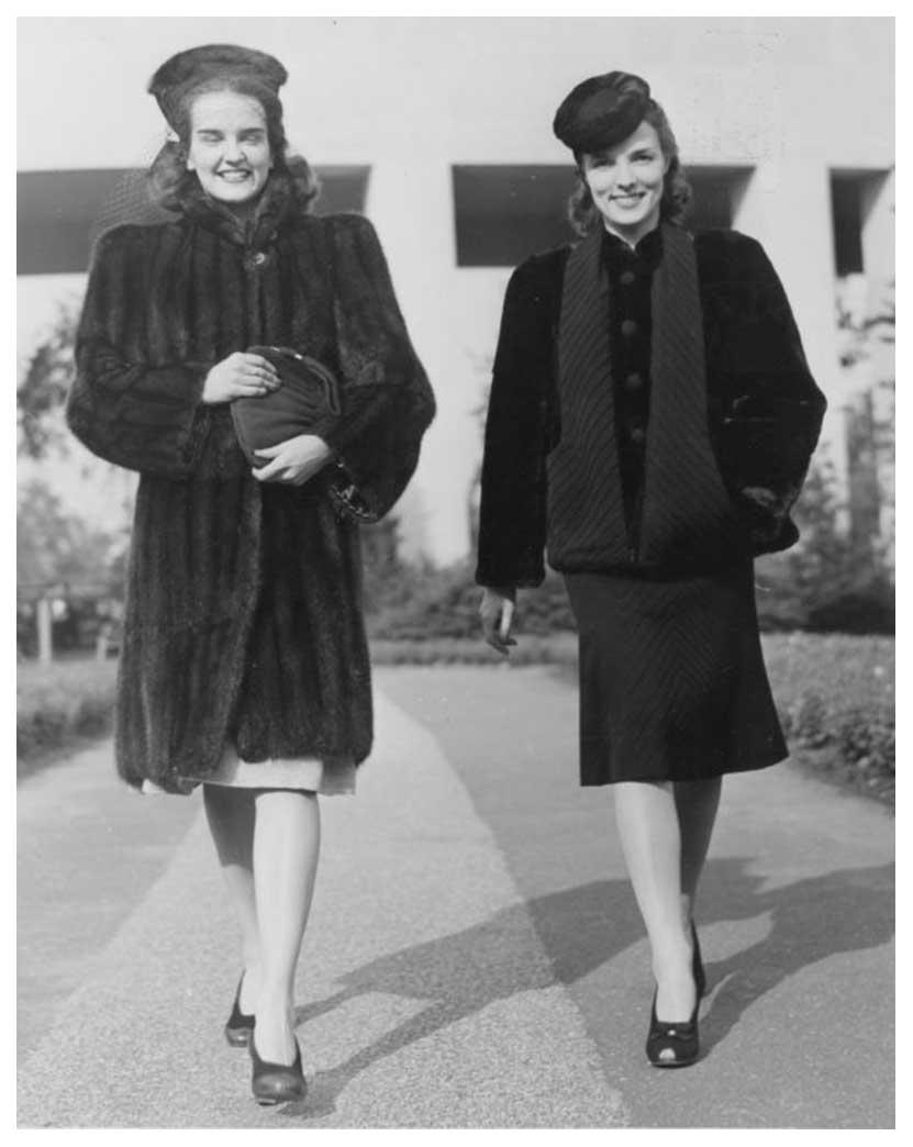 1940s Fashion Forecast Coat Styles Glamourdaze