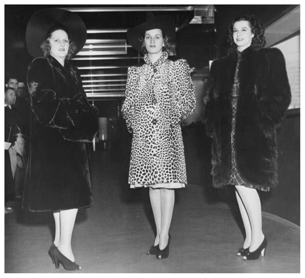 1940s Fashion Forecast Coat Styles Glamourdaze