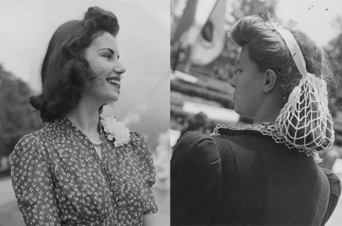 1940s Fashion Forecast - Hairstyles To Swimsuits