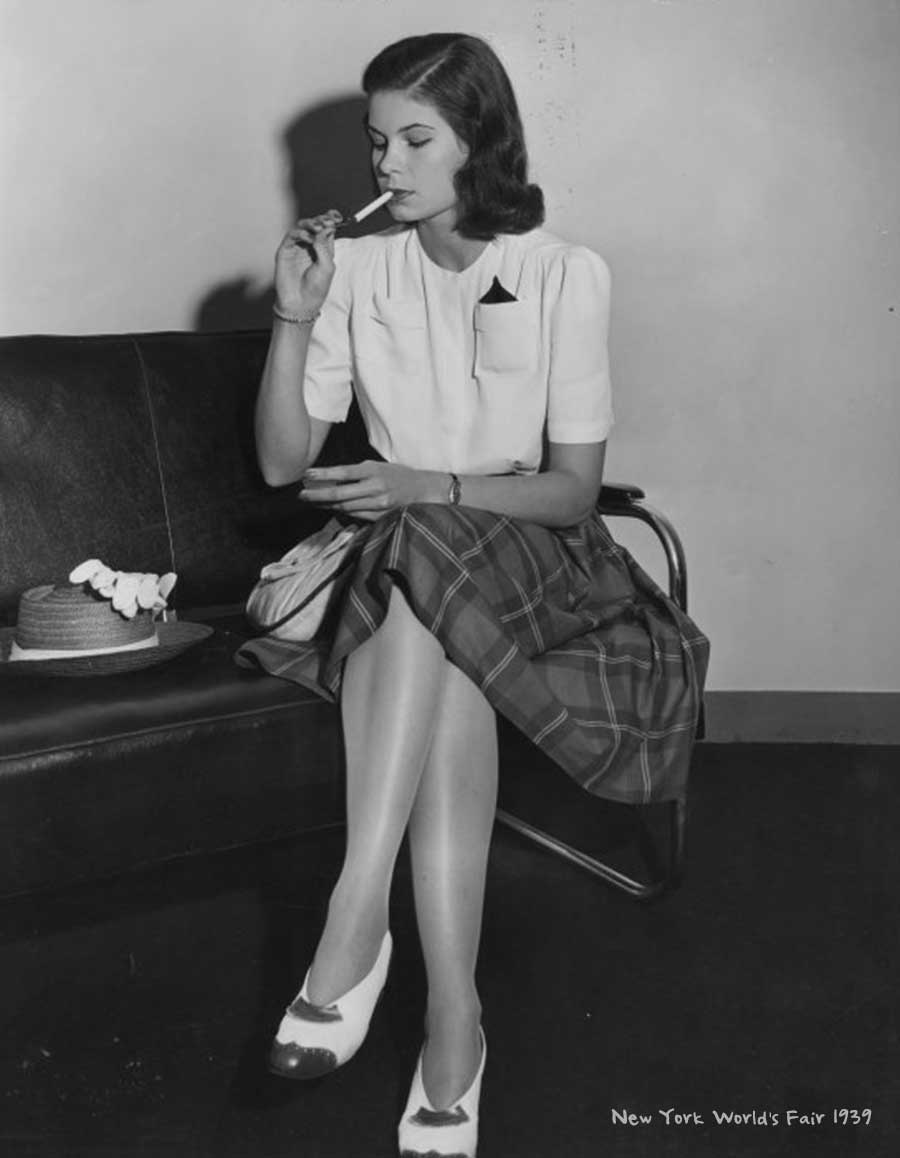1940s-Fashion-Forecast---tartan skirts