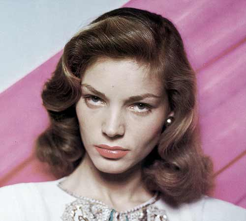 Vintage waves - 1940s-Hairstyle-tutorial - Lauren Bacall