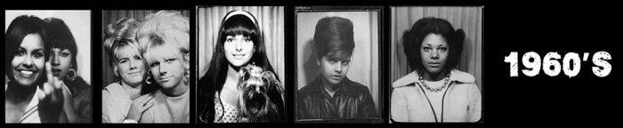 1960's Women - Selfies in photo booths