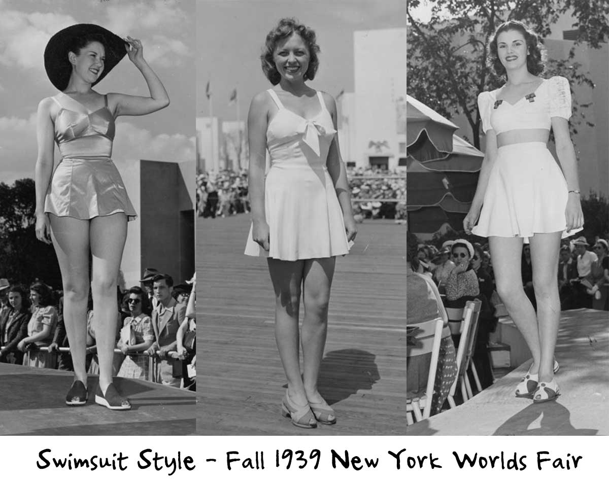 1940s Fashion Forecast Hairstyles To Swimsuits Glamourdaze