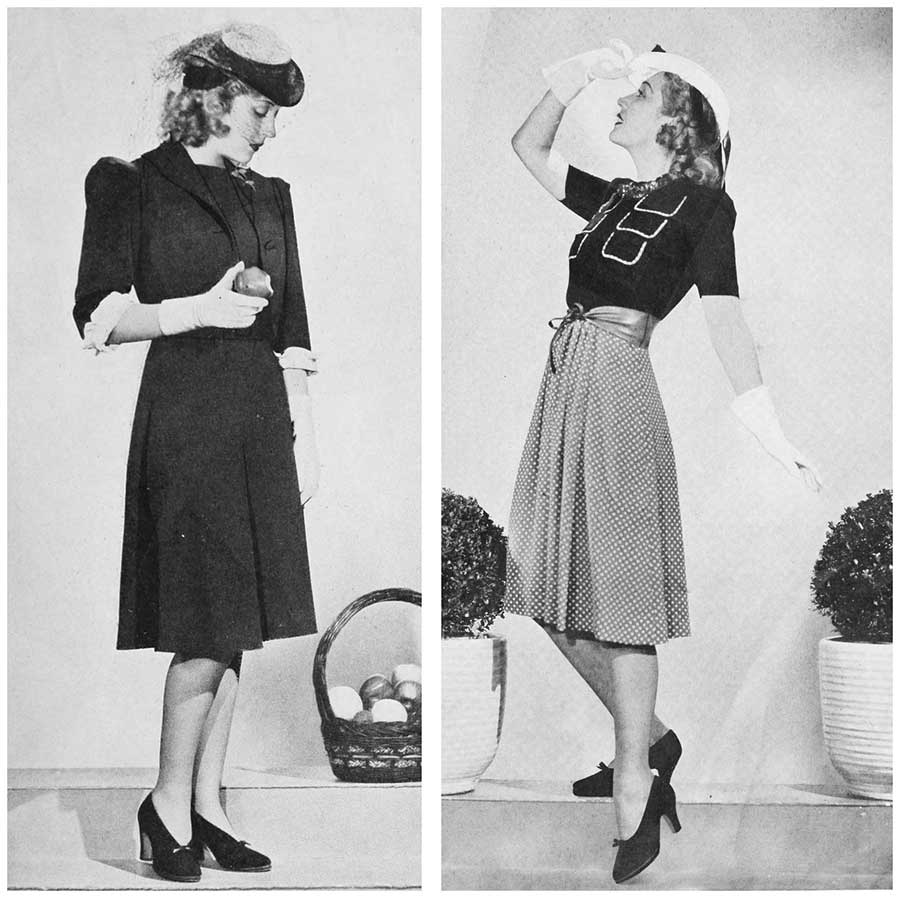 Early 1940s dresses images