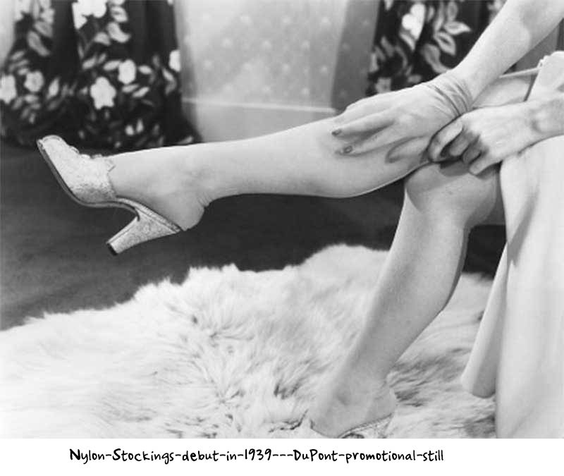 Nylon-Stockings-debut-in-1939---DuPont-promotional-still