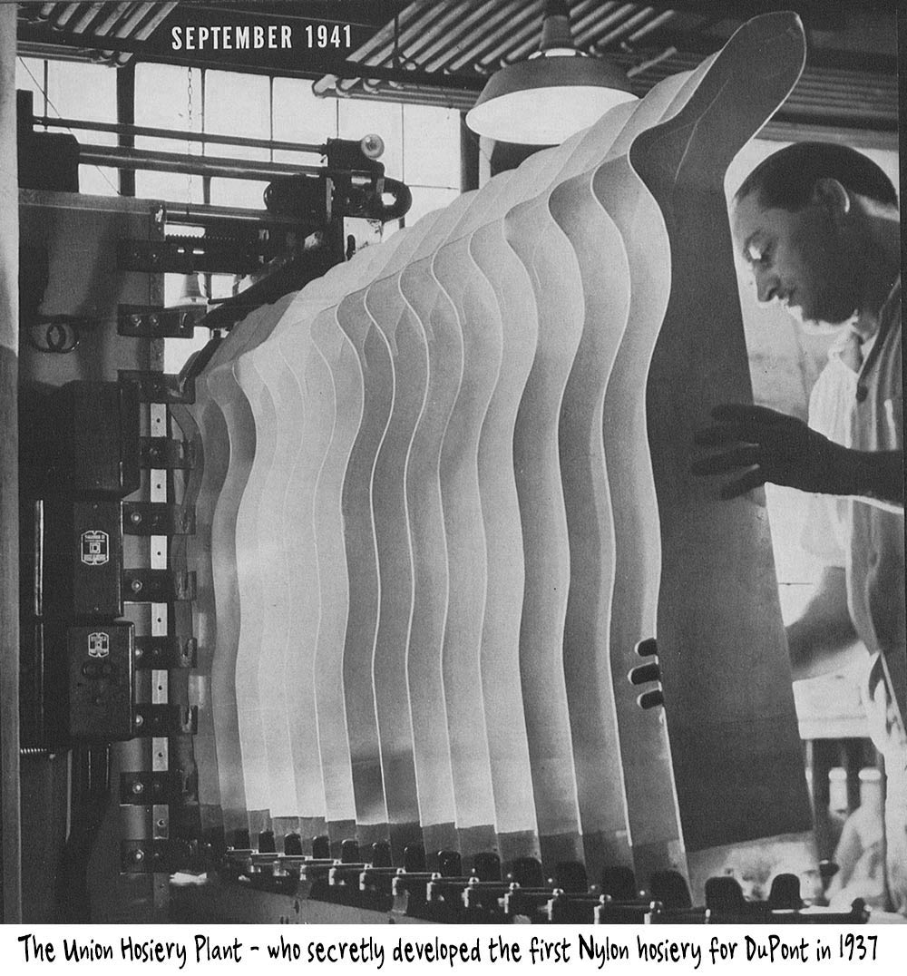 Union-Hosiery-plant-1941---leg-forms