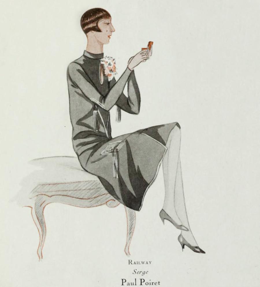 1920s Fashion - Paul Poiret Paris 1928