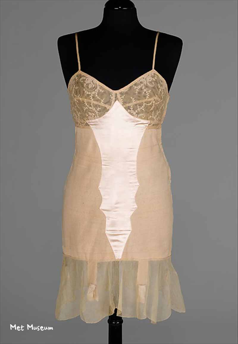 1935 Corset and Slip