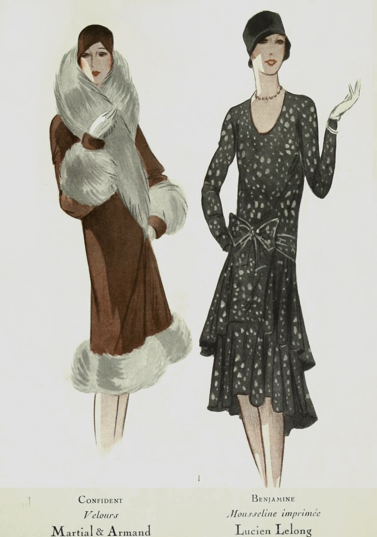1920s Fashion Modes From Paris 1928 Glamourdaze
