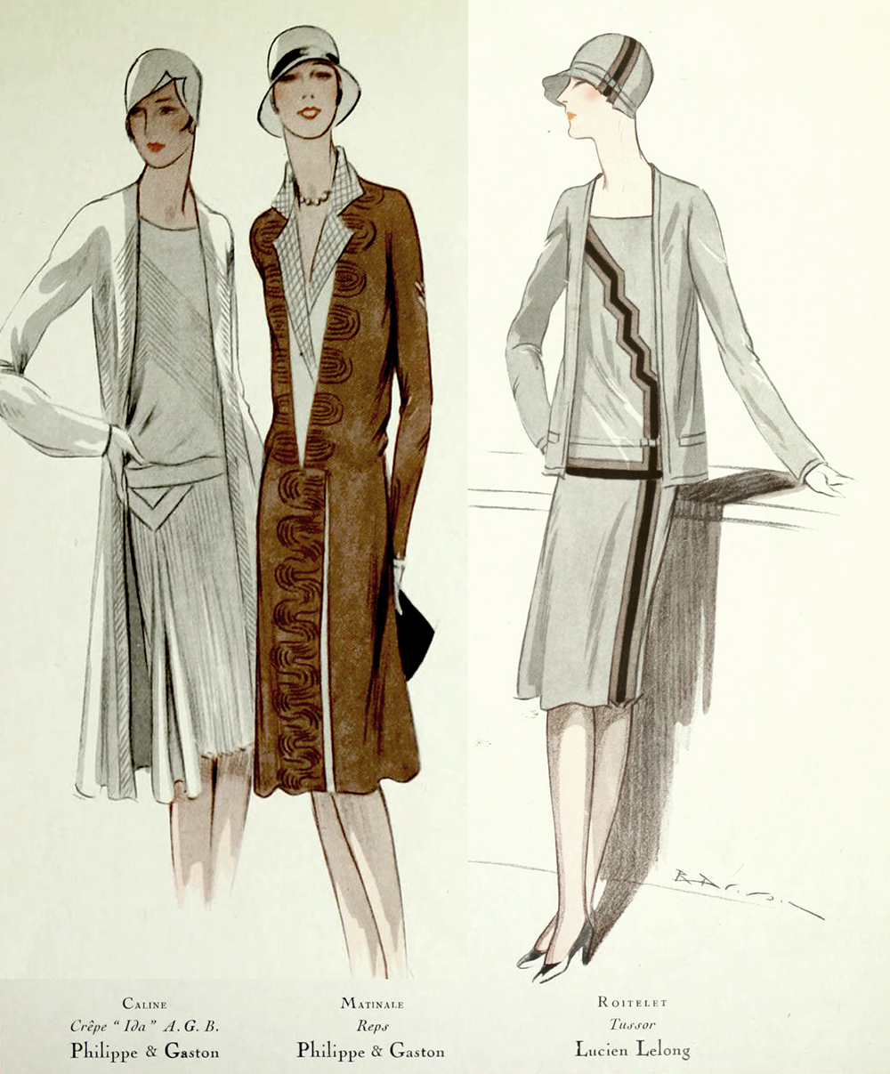 1920s Fashion - Paris 1928 - Philippe & Gaston, Lucien Lelong