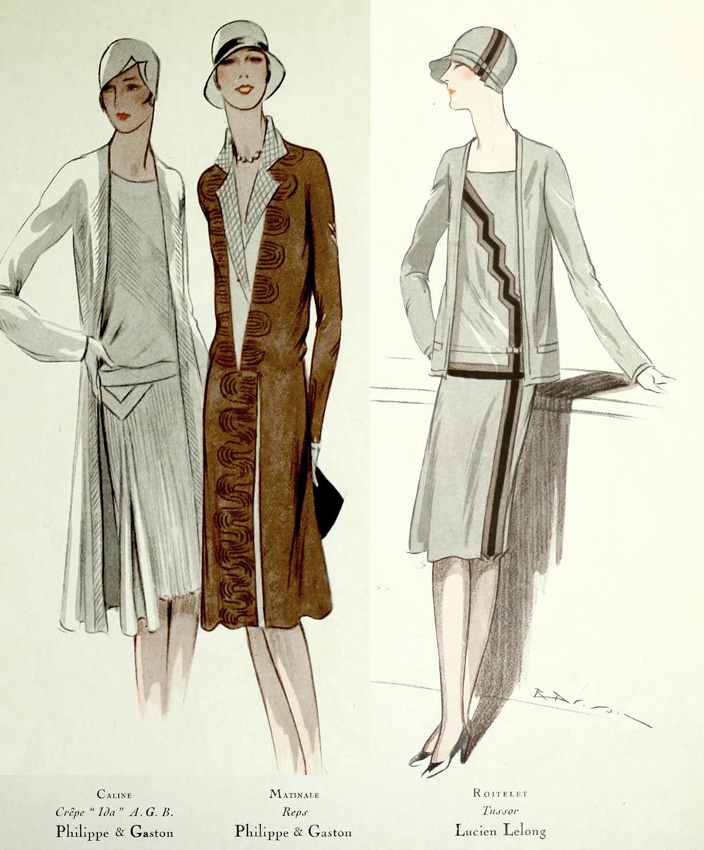 1920s Fashion - Paris 1928 - Philippe & Gaston, Lucien Lelong