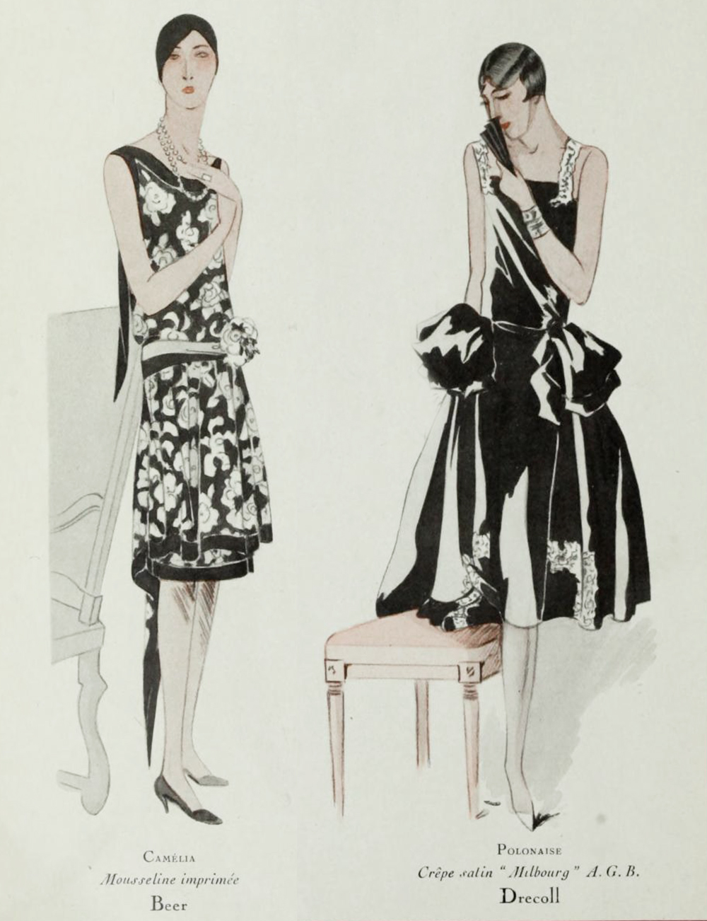 1920s Fashion - Modes from Paris 1928 - Drecoll and Beer