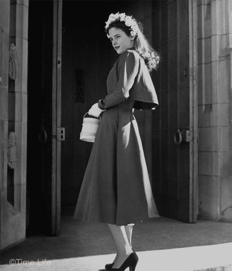 1940s-College-Style - fly away jacket-Madeline Balcar