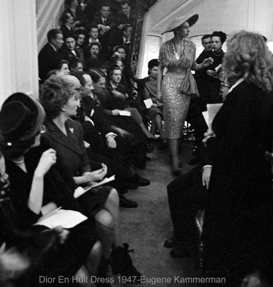 Dior-En-Huit-Dress-1947-Eugene-Kammerman