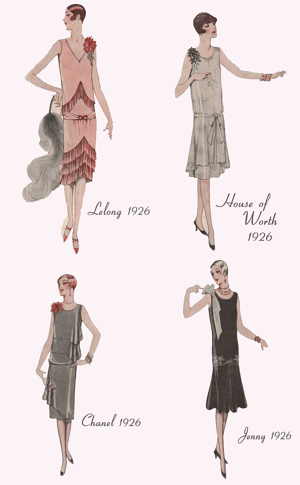 Fashion Report 1926 - Evening Frocks from Paris