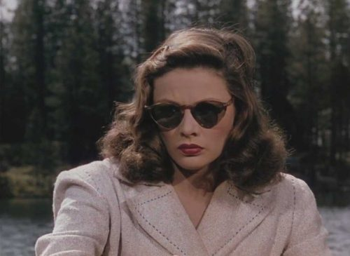 Gene Tierney Leave her to Heaven 1945