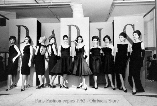 1-Paris-Fashion-copies-1962---Ohrbachs-Store