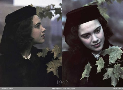1940s-War-era-women-in-color-1942
