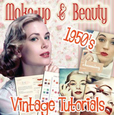 1950s makeup guides