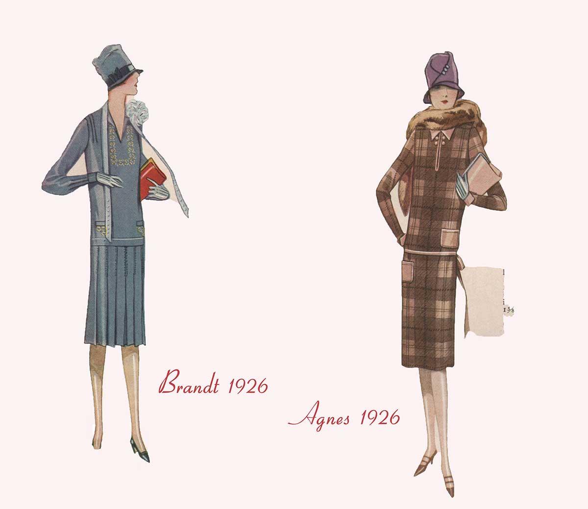 Designer Winter Fashion - Brandt and Agnes