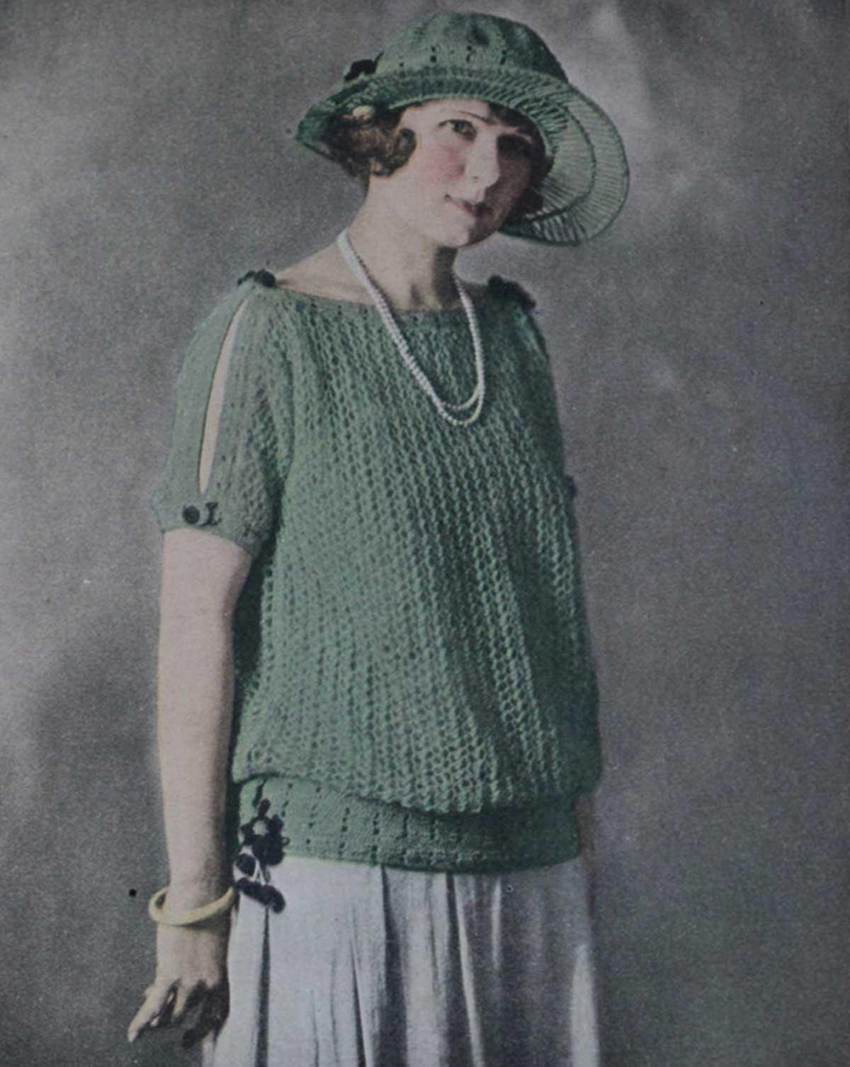 1923-Needlecraft-magazine-sweater