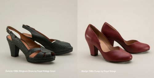 1940s-style-shoes - Royal Vintage