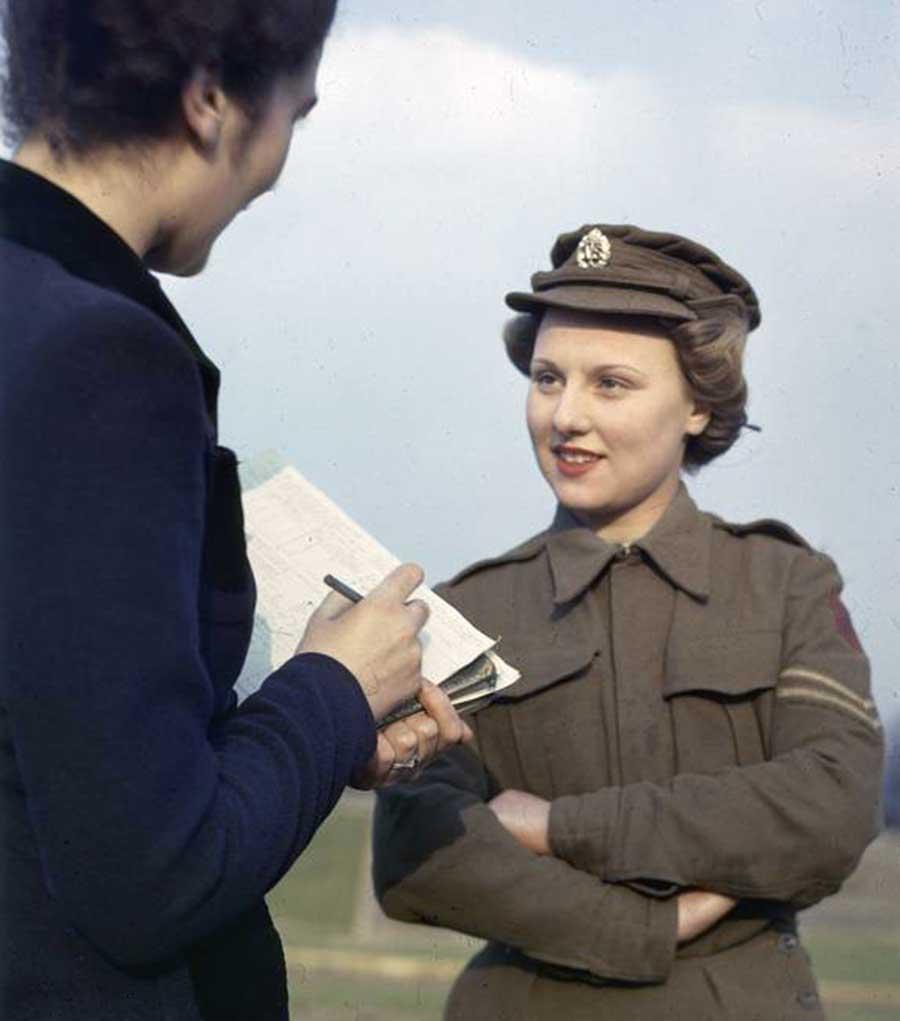 ATS Corporal Cynthia Lawrence