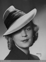 1940s Hat Styles from 1940 to 1945 3bf4722d8c8
