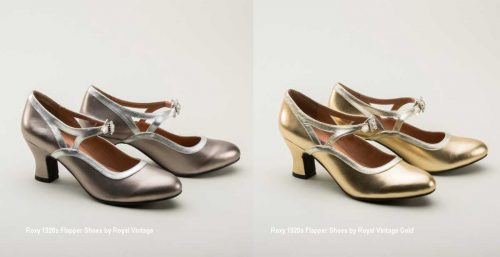 1920s fashion - 1920s-Flapper-Shoes-by-Royal-Vintage