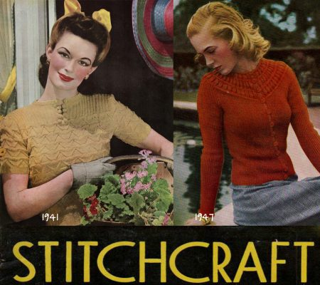 Stitchcraft-sweater-patterns-1941-and-947