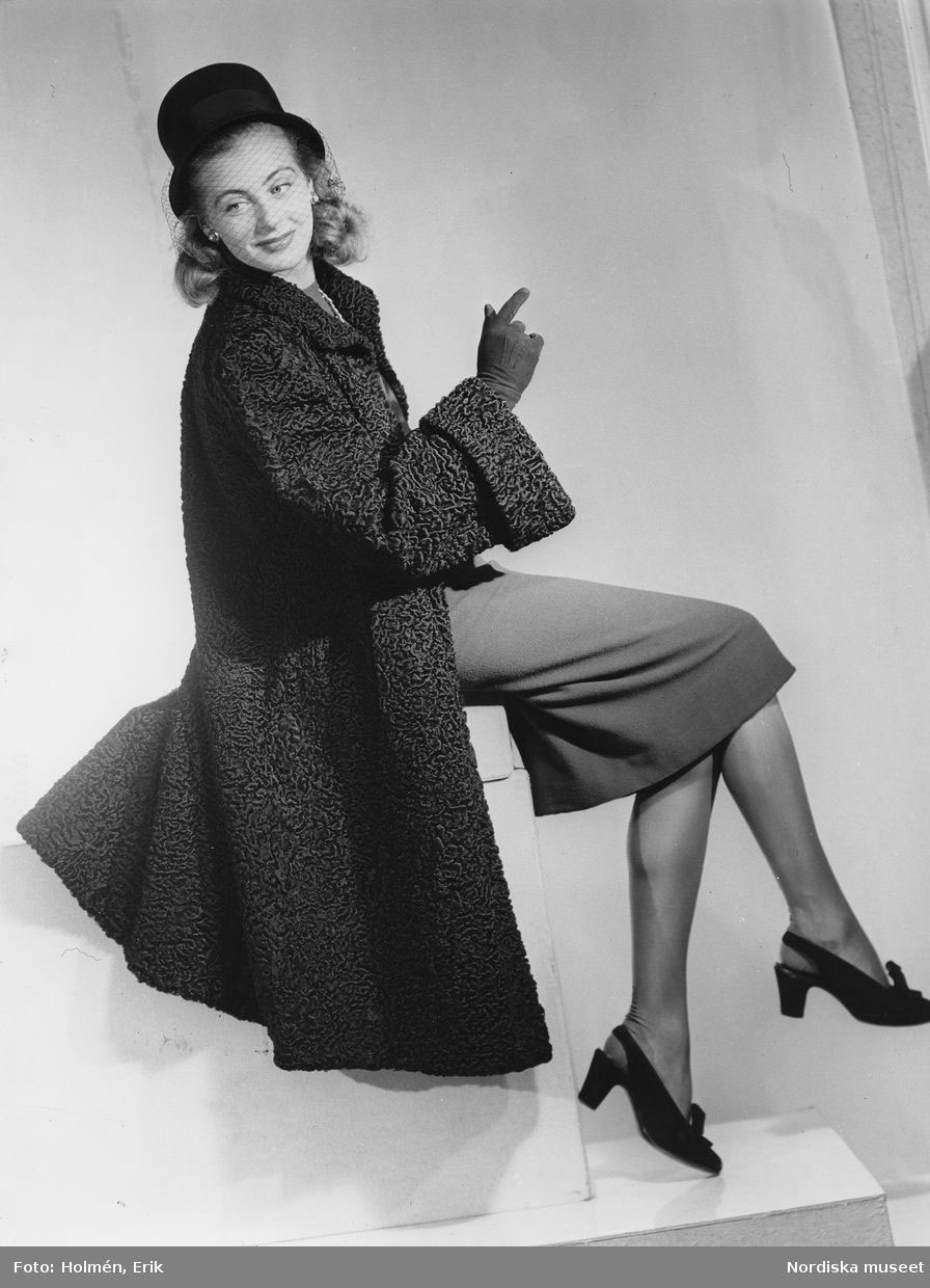 1940s Coat Styles From 1943 To 1945