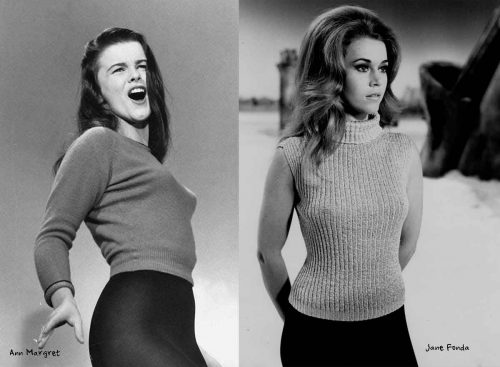 Ann-Margret-and-Jane-Fonda---1960s-sweater-girls