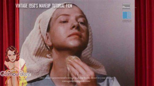 vintage-1950s-makeup-tutorial-foundation