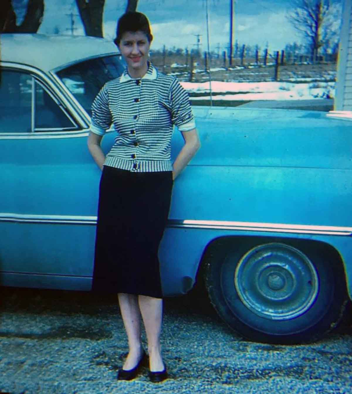 Straight-out-of-the-50-photos of Women in the 1950s